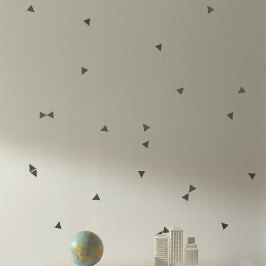 ferm LIVING Mini Triangle Wall Decal
