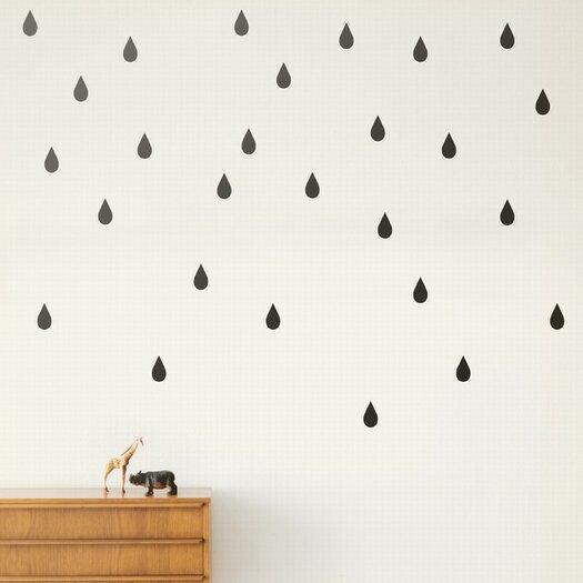 ferm LIVING Mini Drops Wall Decal