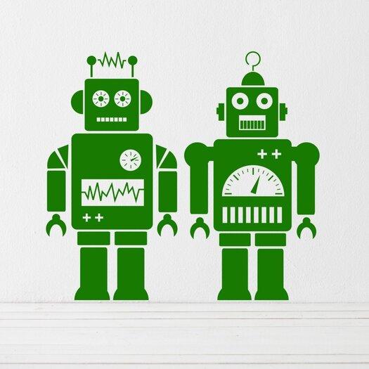 ferm LIVING Robot Wall Decal