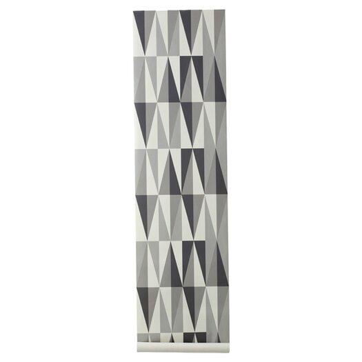 ferm LIVING Spear Wallsmart Geometric Wallpaper