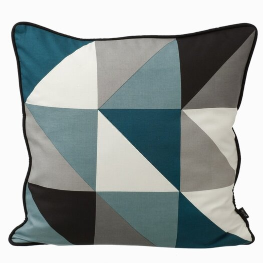 Remix Silk Throw Pillow