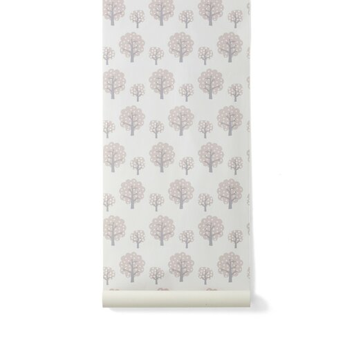 ferm LIVING Kids Dotty Floral Botanical Wallpaper