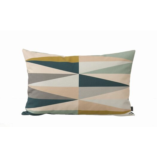 Spear Organic Cotton Canvas Lumbar Pillow