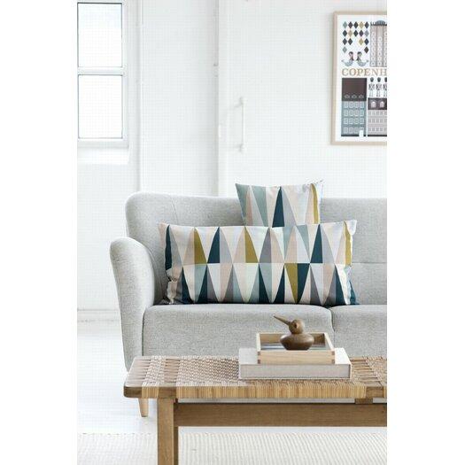 ferm LIVING Spear Organic Cotton Canvas Pillow