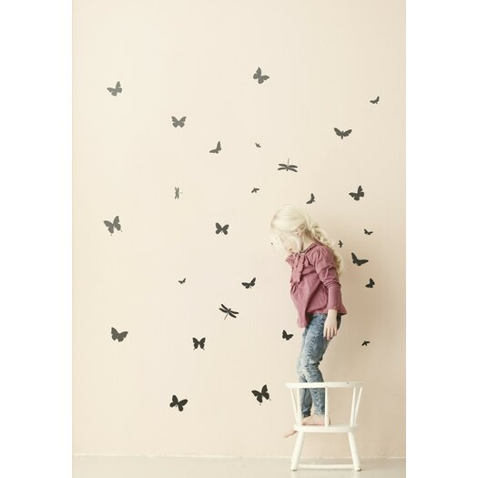 ferm LIVING Mini Butterflies Wall Decal