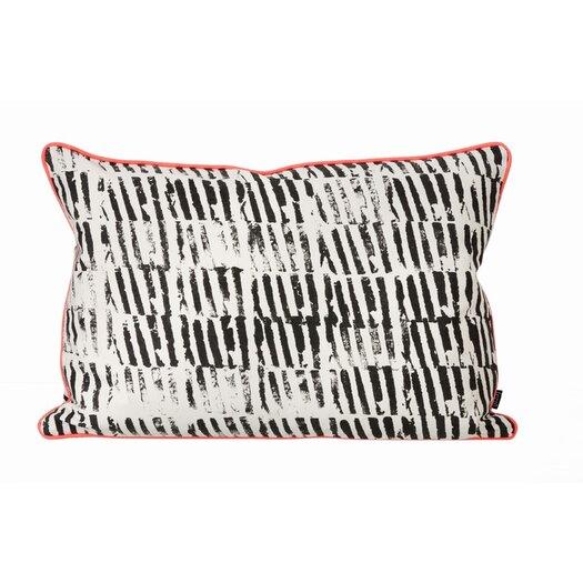 Worn Stripe Organic Lumbar Pillow