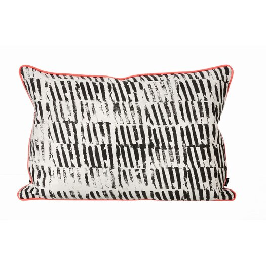 Worn Stripe Organic Lumbar Pillow