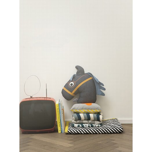 ferm LIVING Stripe Quilted Cotton Blanket