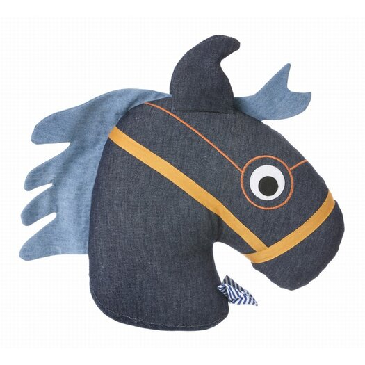 ferm LIVING Horse Cotton Cushion