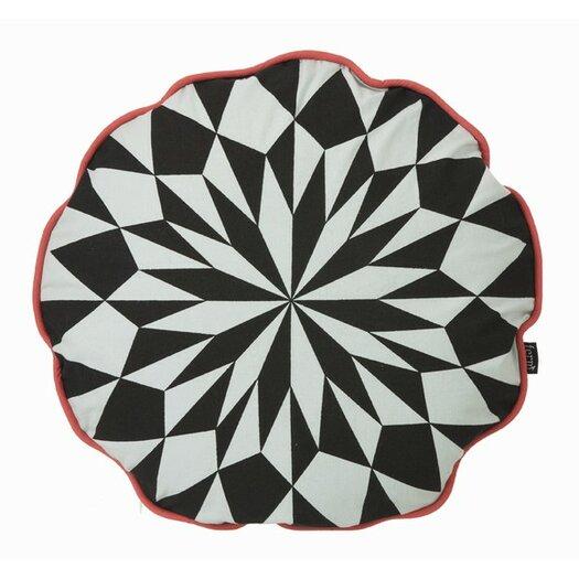 ferm LIVING Star Round Organic Cotton Cushion