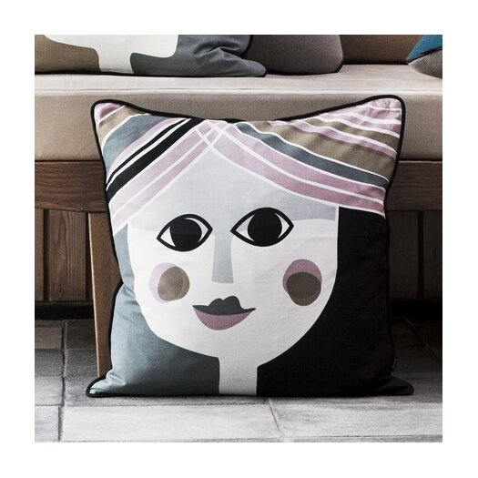 ferm LIVING Mrs. Cushion Silk Accent Pillow