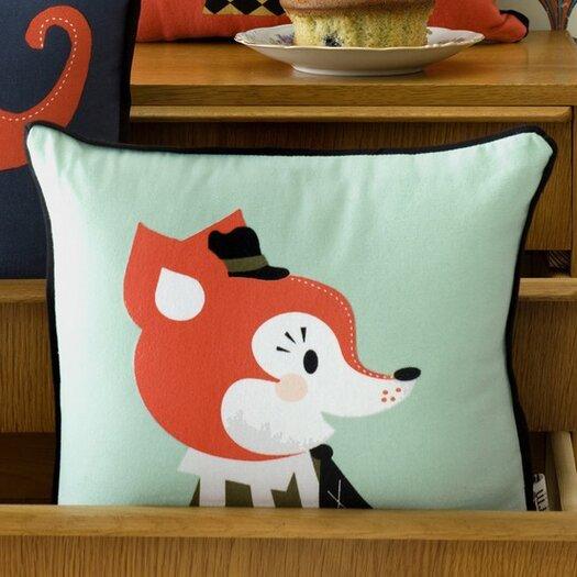 ferm LIVING Mr. Frank Fox Organic Cotton Pillow