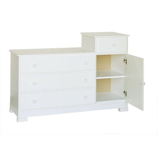 DaVinci Kalani 4-Drawer Combo Dresser