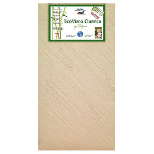 Colgate Shades Of Green EcoVisco Classica Crib Mattress