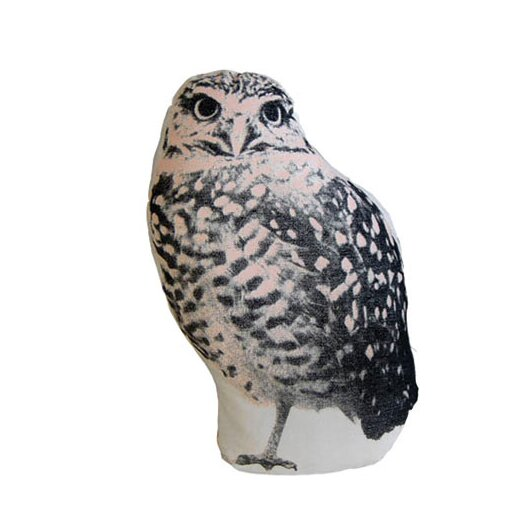 Fauna Mini Organic Cotton Owl Cushion