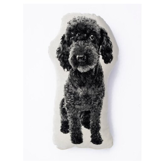 Fauna Mini Organic Cotton Poodle Cushion