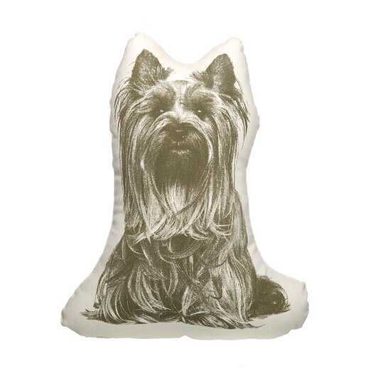 Organic Cotton Yorkshire Terrier Pillow