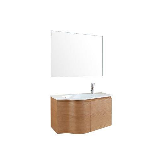 """Virtu Roselle 35.4"""" Single Bathroom Vanity Set"""