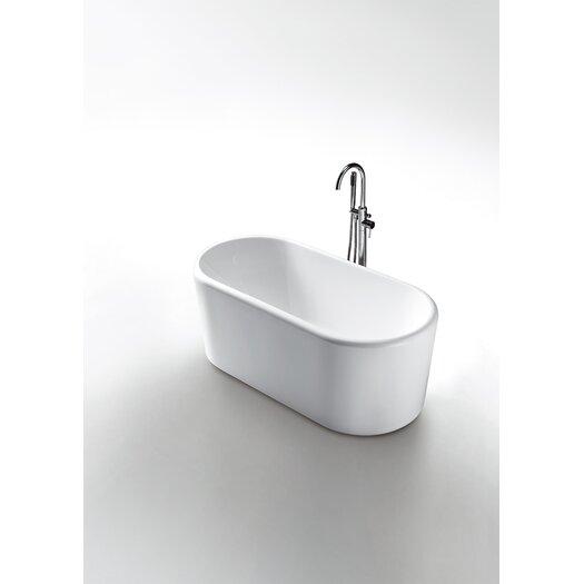 """Virtu Serenity 67"""" x 28"""" Bathtub"""