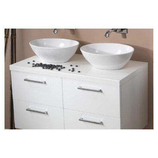 """Iotti by Nameeks Aurora 37"""" Bathroom Vanity Top"""