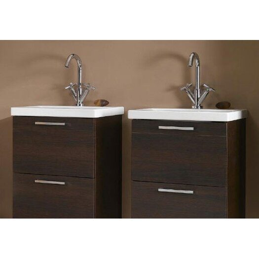 "Iotti by Nameeks Luna 20"" Fitted Ceramic Vanity Top"