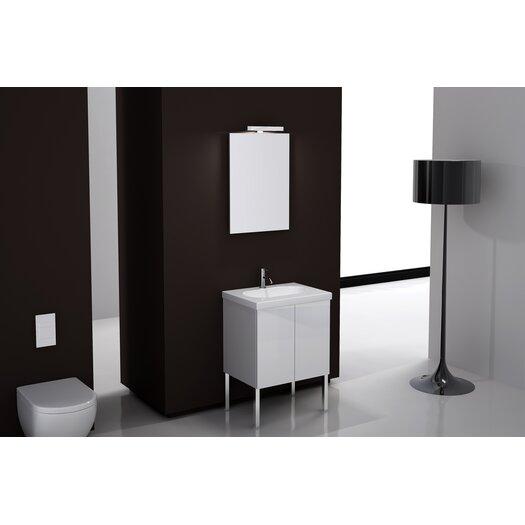 """Iotti by Nameeks Trendy 23"""" Footed Bathroom Vanity Set with Feet"""