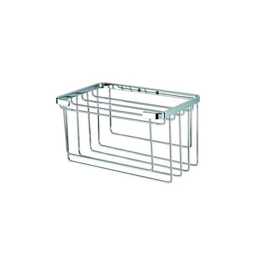 Geesa by Nameeks Basket Towel Basket in Chrome