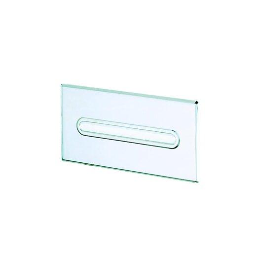 Geesa by Nameeks Standard Hotel Recessed Tissue Box Holder in Stainless Steel