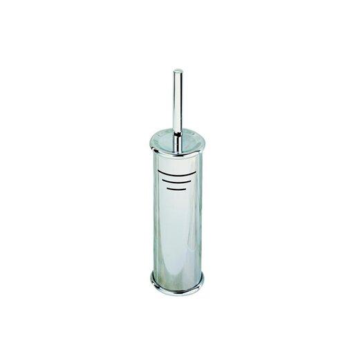 Geesa by Nameeks Standard Hotel Free Standing Toilet Brush Holder in Stainless Steel