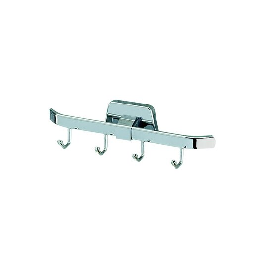 Geesa by Nameeks Standard Hotel Wall Mounted Four Hook Rack