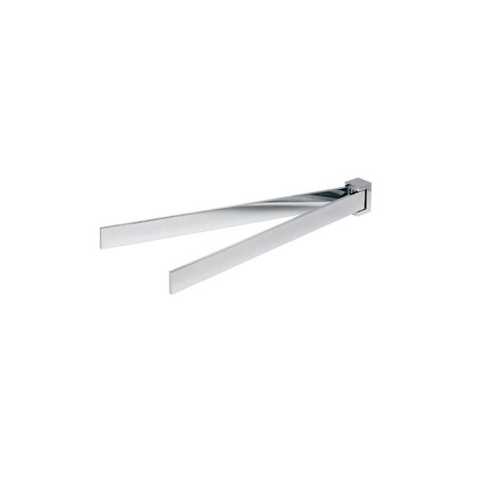 "Geesa by Nameeks Modern Art 15.8"" Wall Mounted Swivel Towel Bar"