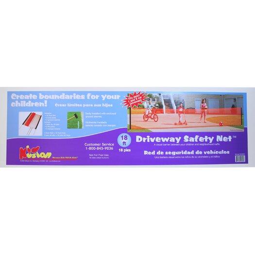Kid Kusion Driveway Safety Net