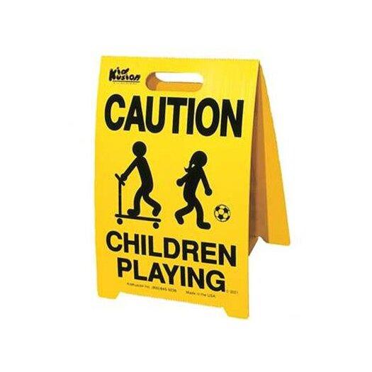 Kid Kusion Driveway Safety Sign