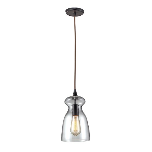 Landmark Lighting Menlow Park 1 Light Pendant