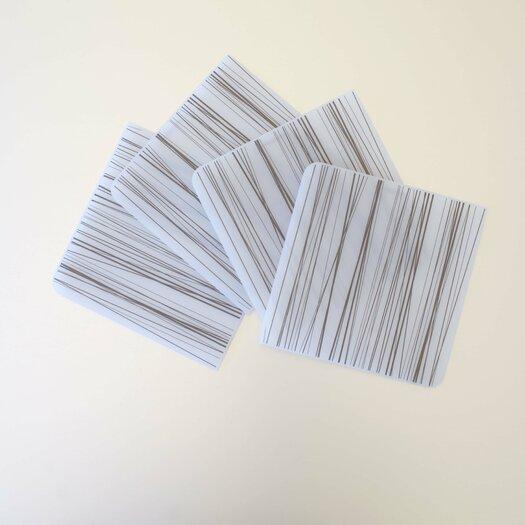 Modern-twist Coaster Notes Stream Coaster Set