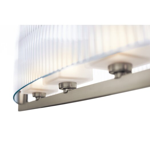 Kichler Rigate 4 Light Chandelier Linear