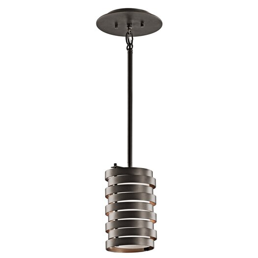 Kichler Roswell 1 Light Mini Pendant