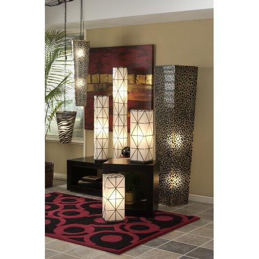 Jeffan Artistry Rosas Square Floor Lamp
