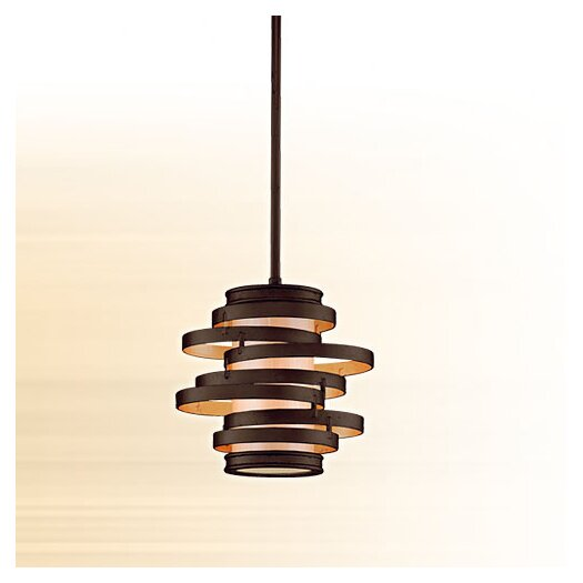 Corbett Lighting Vertigo 1 Light Hanging Mini Pendant