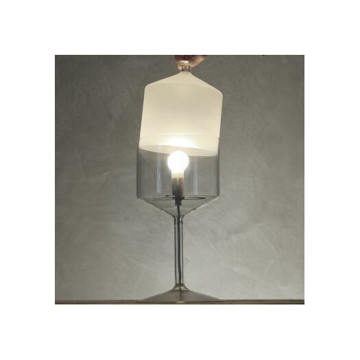 "Produzione Privata Bonne Nuit 13.8"" H Table Lamp with Bowl Shade"