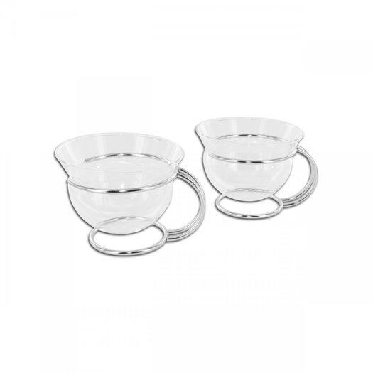 mono Mono Filio Glass Teacups by Tassilo von Grolman