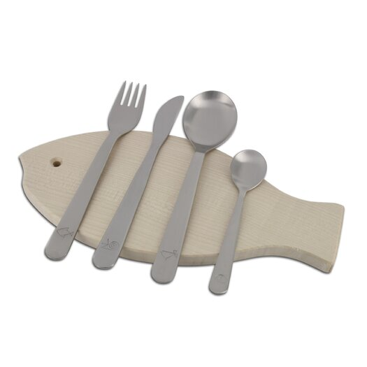 mono Mono Kids Petit 4 Piece Flatware Set by Peter Raacke