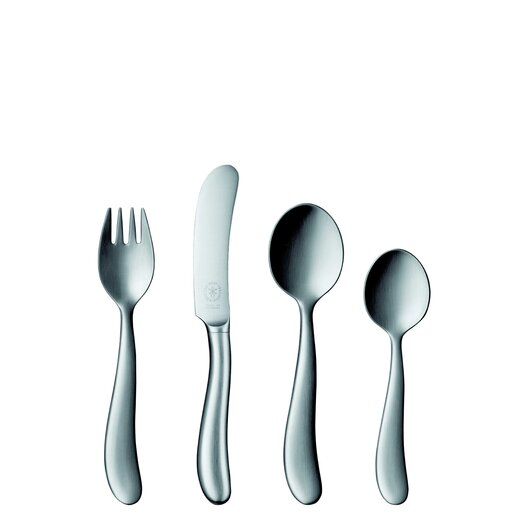 POTT Bonito 99 Collection Silver 4 Piece Child's Cultery Set