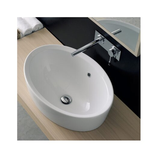 Scarabeo by Nameeks Matty Oval Bathroom Sink