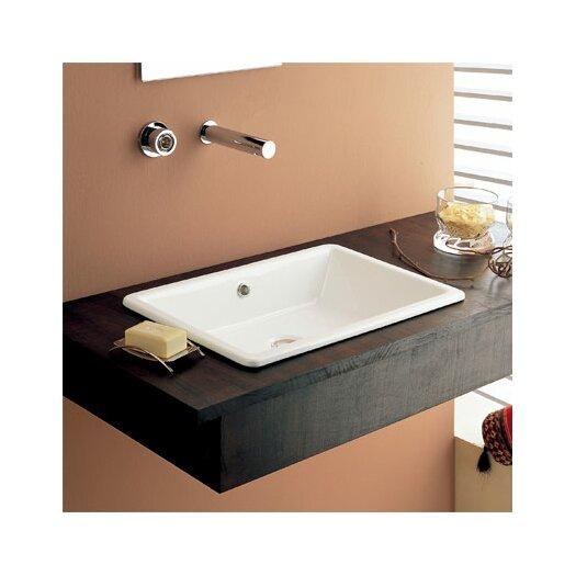 Scarabeo by Nameeks Gaia Built-In Bathroom Sink