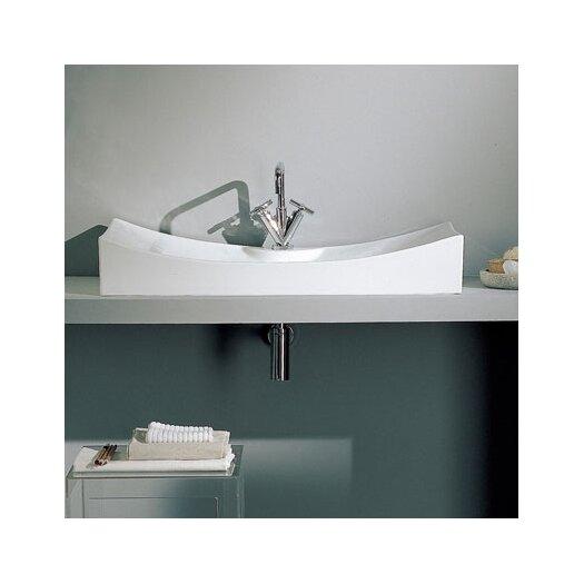 Scarabeo by Nameeks Tsunami 90 Single Hole Bathroom Sink