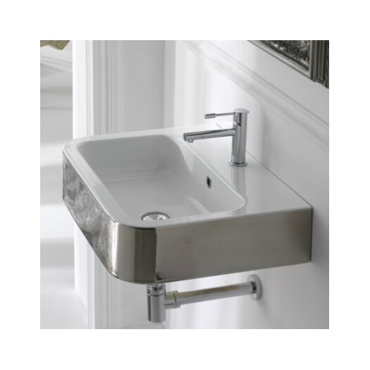 Scarabeo by Nameeks Next Wall Mount Bathroom Sink