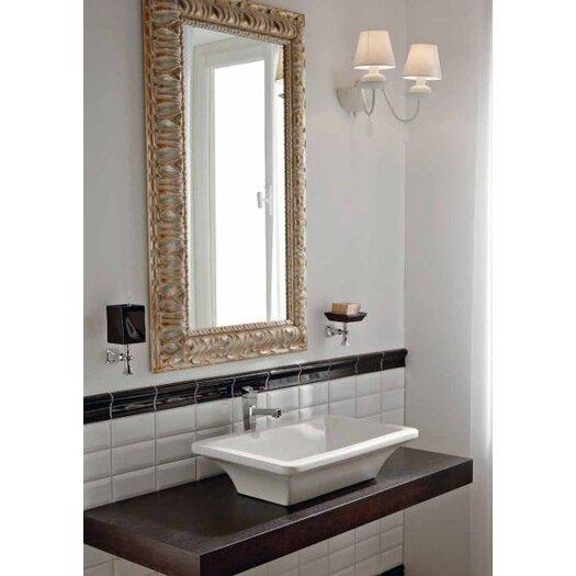 """Scarabeo by Nameeks Line 35"""" Bathroom Wood Console Vanity Top"""