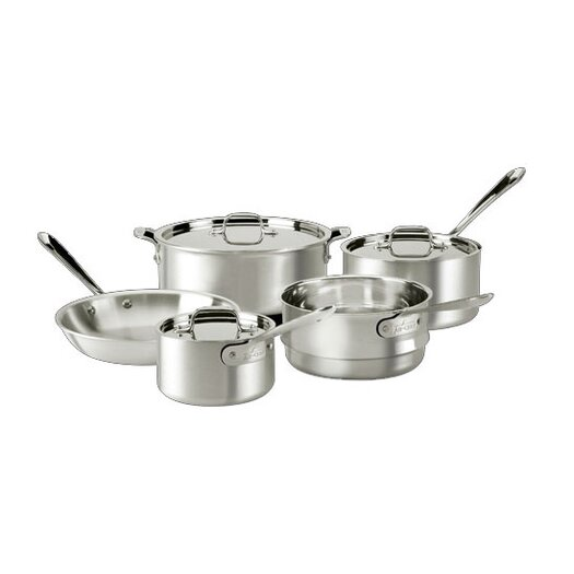 All-Clad Master Chef 8 Piece Cookware Set