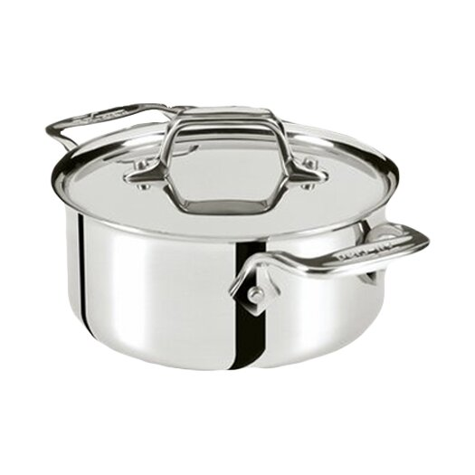 All-Clad Specialty Cookware 0.5 Qt. Round Dutch Oven